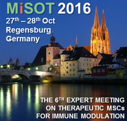 SEPCELL SUPPORTS THE 6th EXPERT MEETING ON THERAPEUTIC MSCs FOR IMMUNE MODULATION